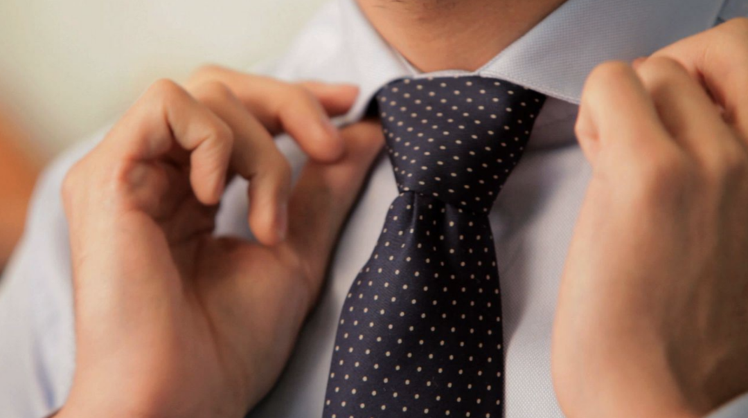 dobbelt slipseknude