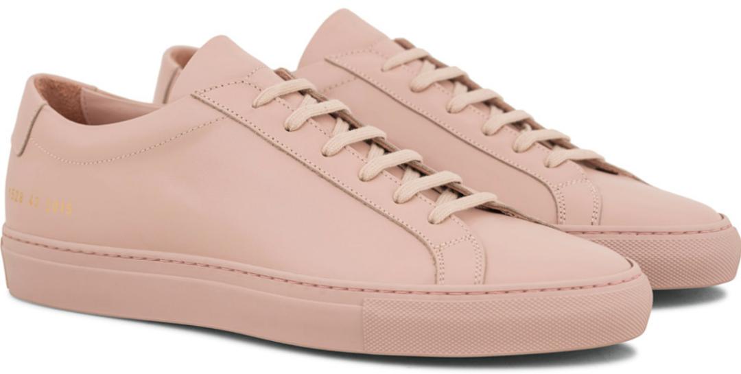 lyserøde sko mænd