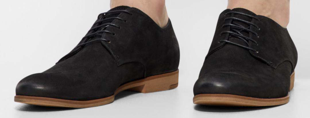 Sorte sko vagabond