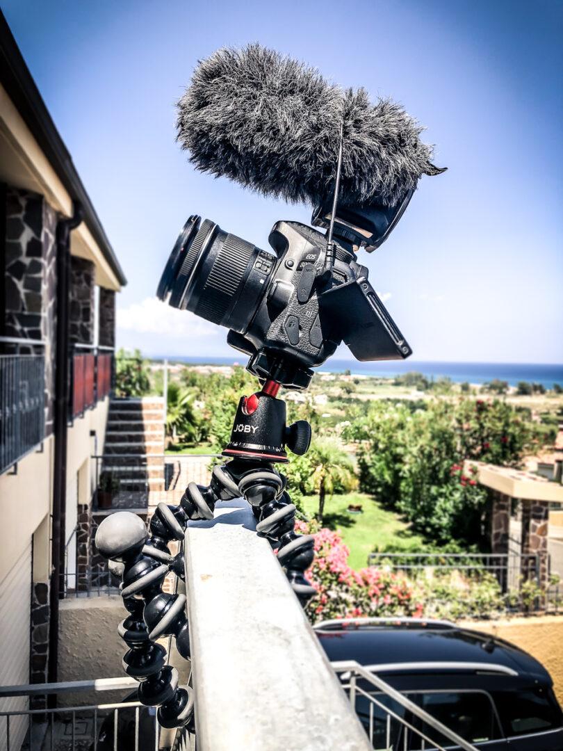 kameraudstyr til vlogging