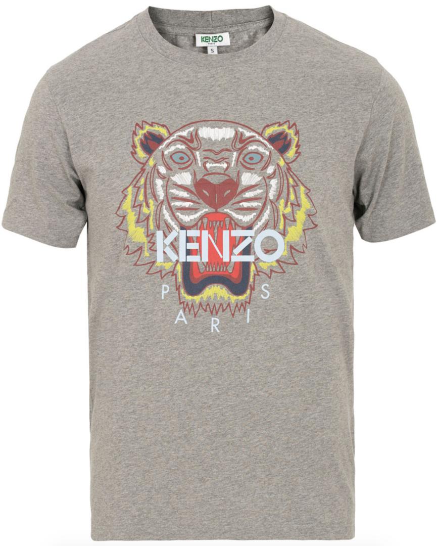 kenzo t-shirt med tiger