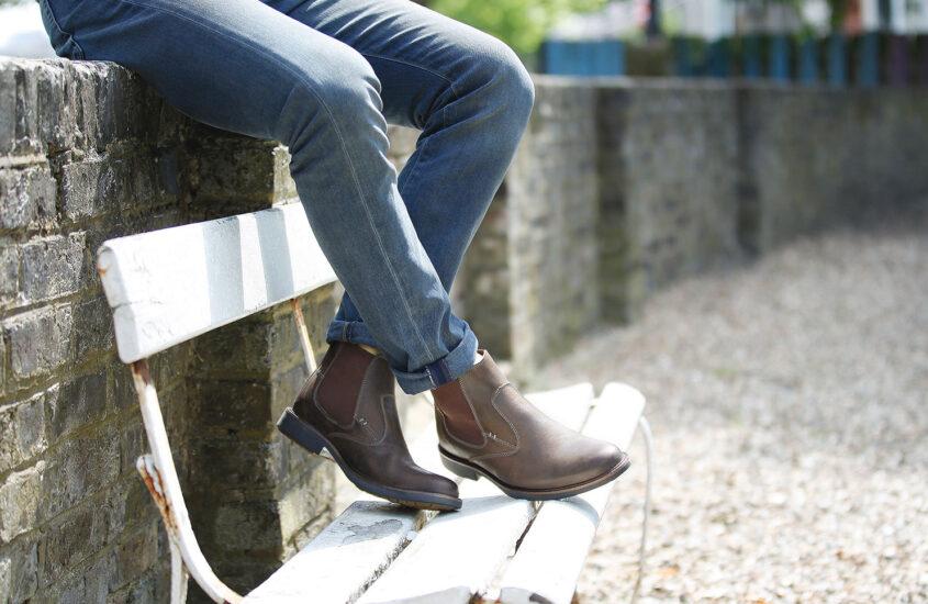 5 sko en herre med respekt for sig selv ejer
