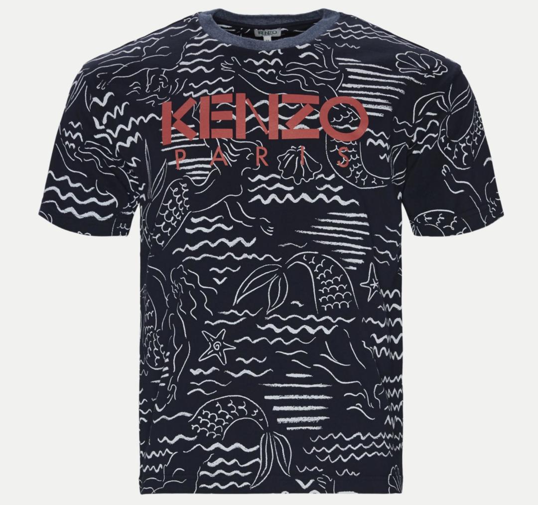 kenzo t-shirt mænd og herrer